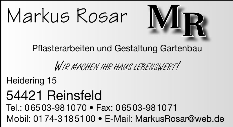 Markus Rosar