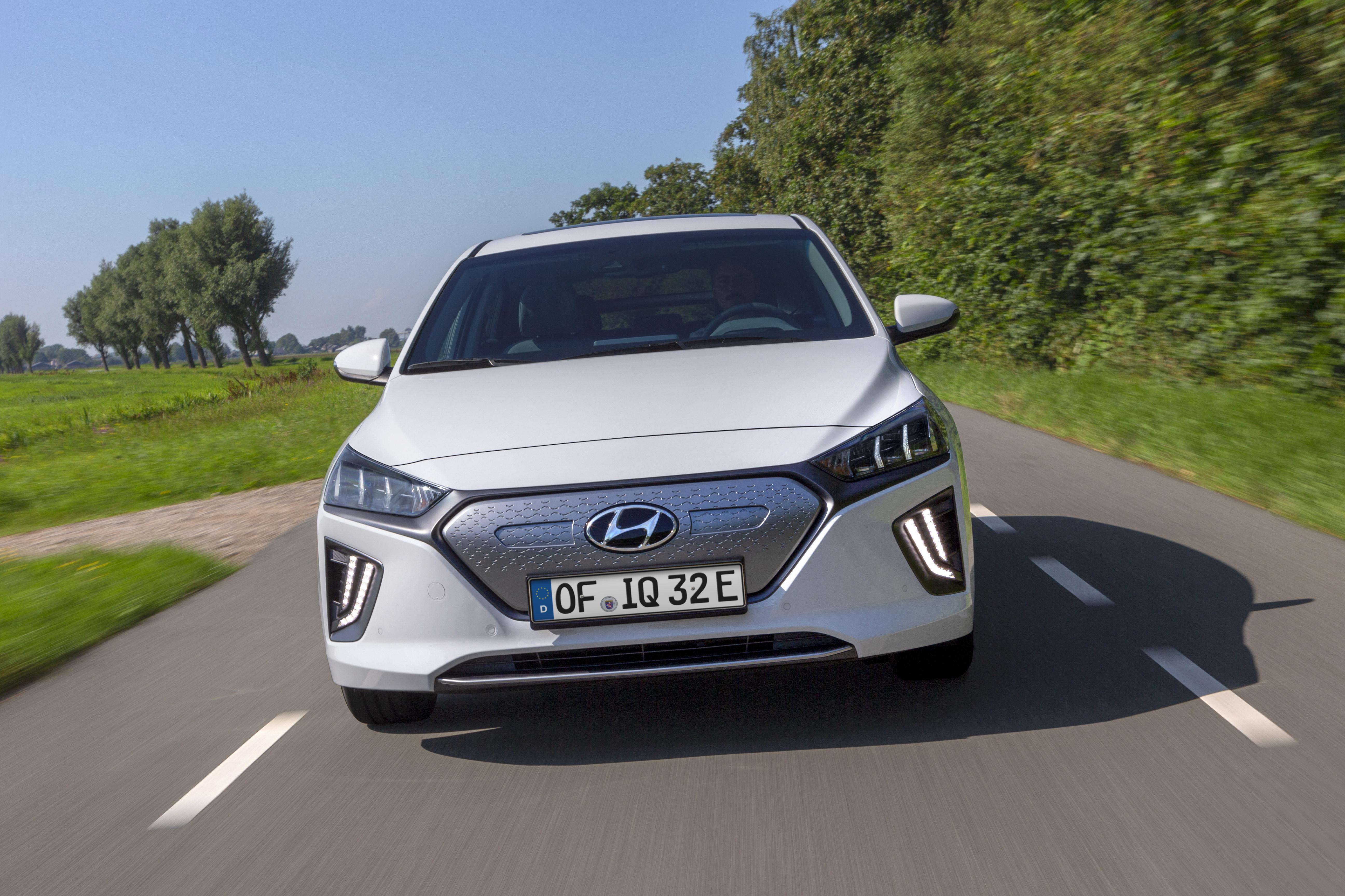 Die Batterie des Hyundai Ioniq Elektro sorgt für bis zu 311 Kilometer Reichweite