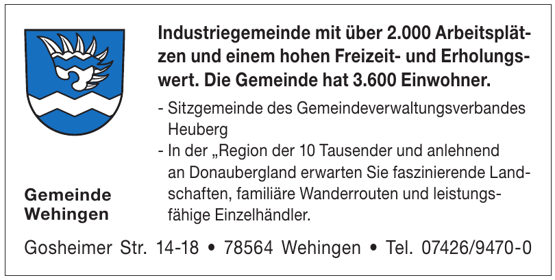 Gemeinde Wehingen