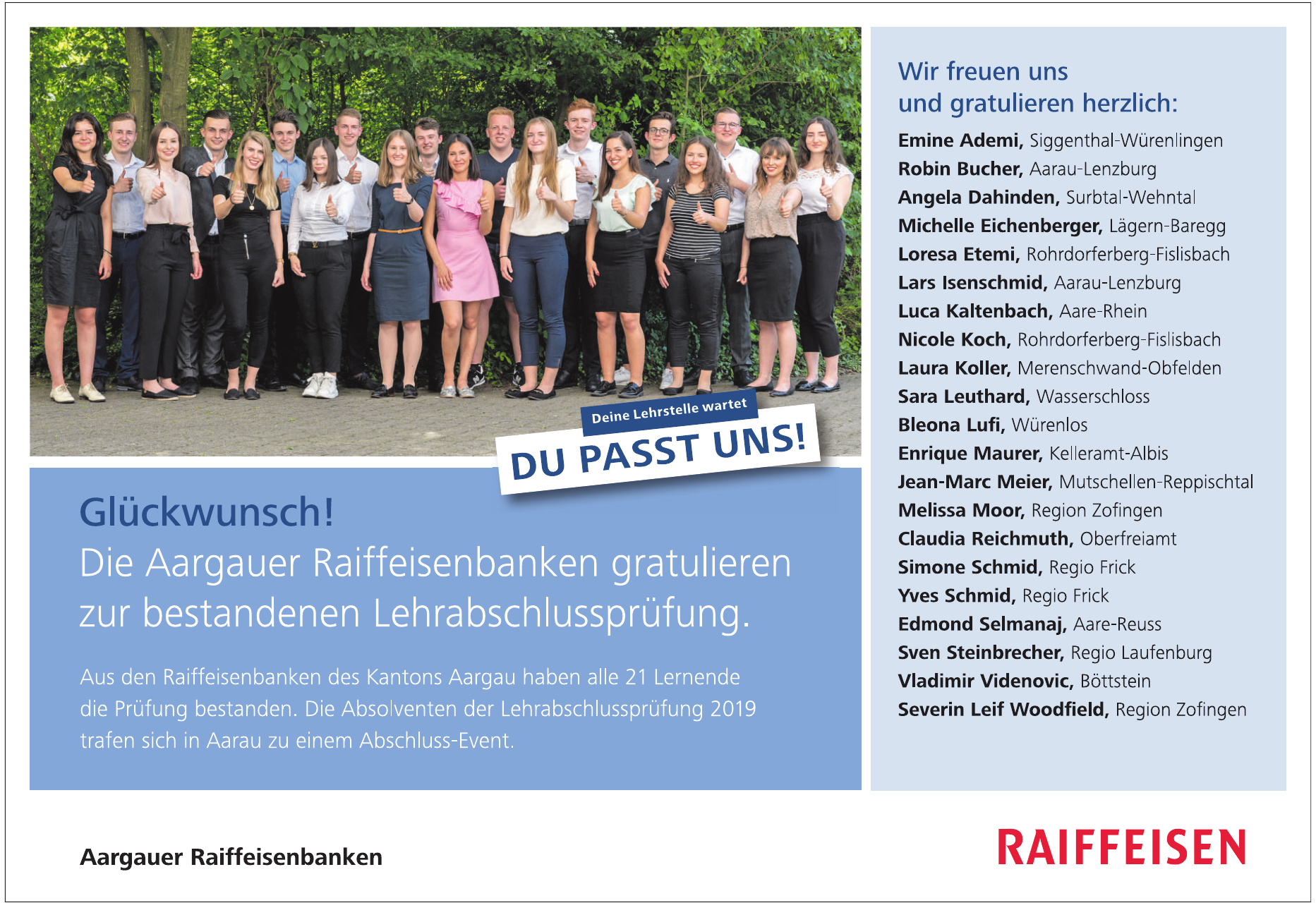 Aargauer Raiffeisenbanken