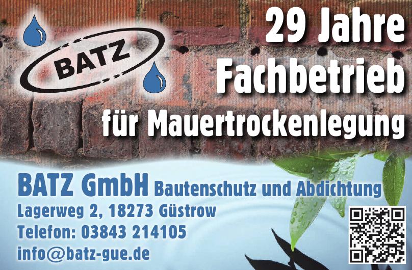 BATZ GmbH Bautenschutz und Abdichtung