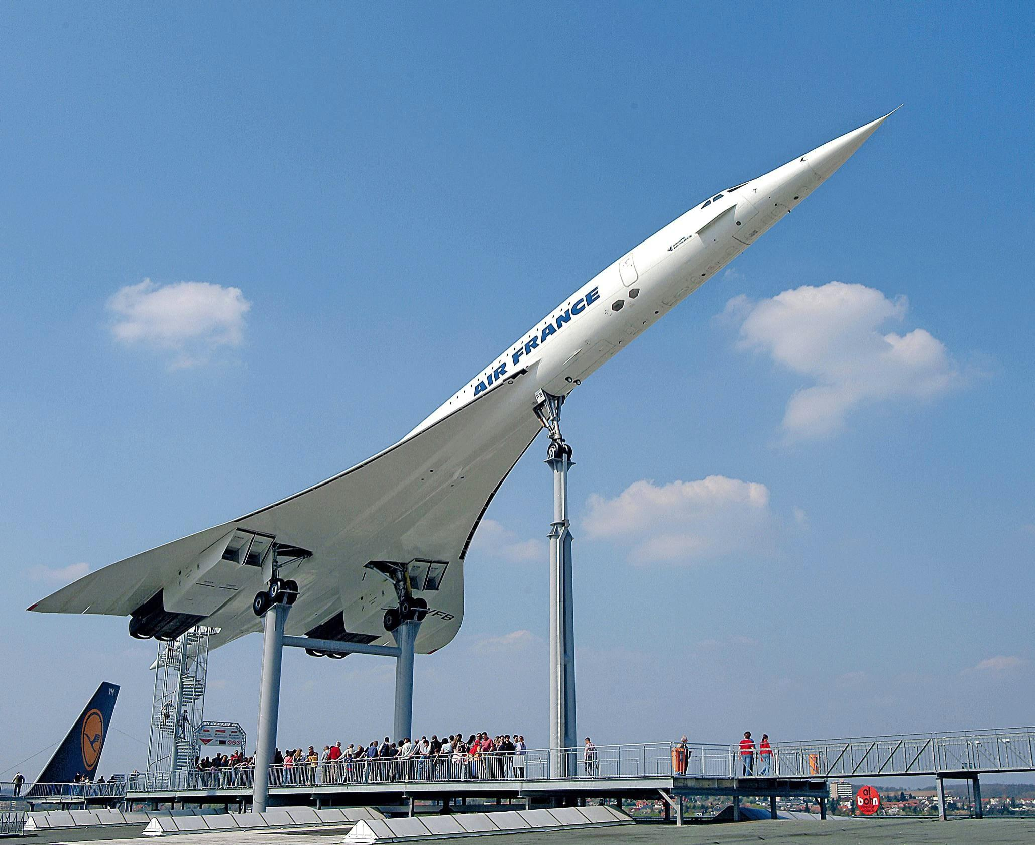 Das legendäre Überschall-Flugzeug Concorde kann im Sinsheimer Technik-Museum auch von innen besichtigt werden. Foto: privat