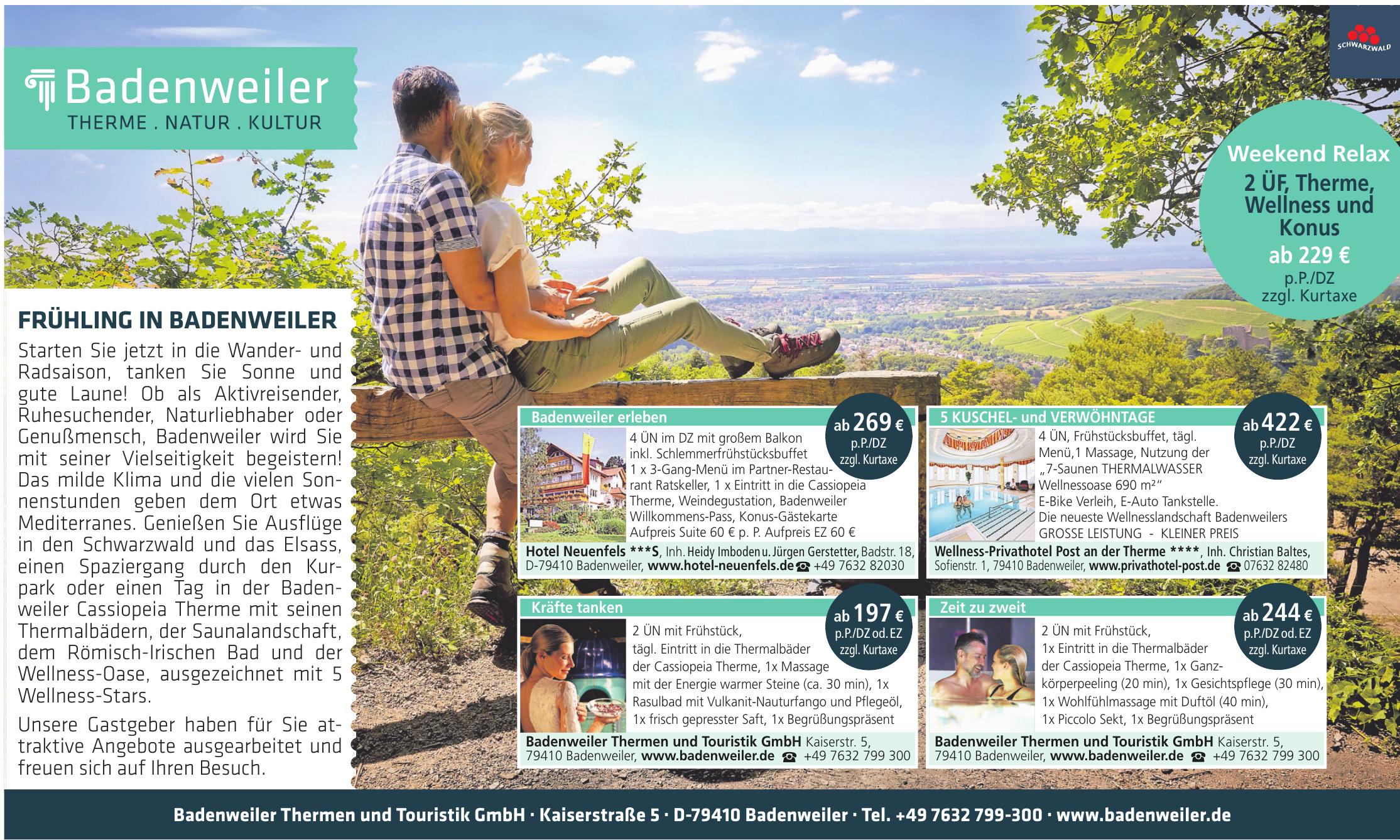 Badenweiler Thermen und Touristik GmbH