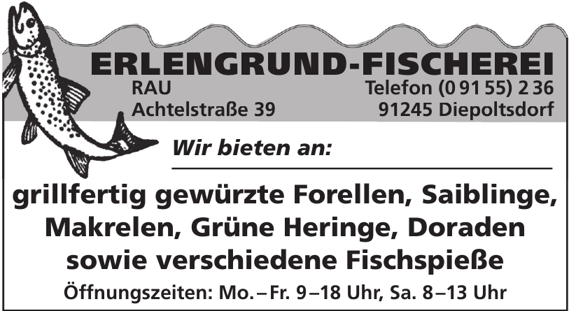 Erlengrund-Fischerei
