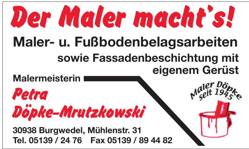 Petra Döpke-Mrutzkowski Malermeisterin