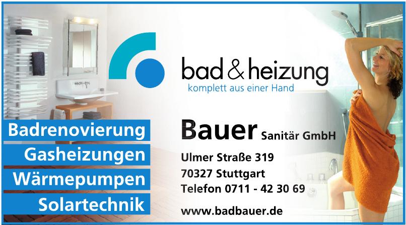 Bauer Sanitär GmbH