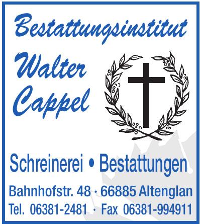 Bestattungsinstitut Walter Cappel