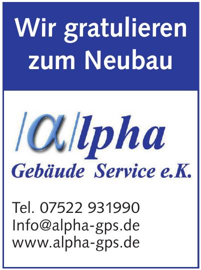 Alpha Gebäude Service e.K.