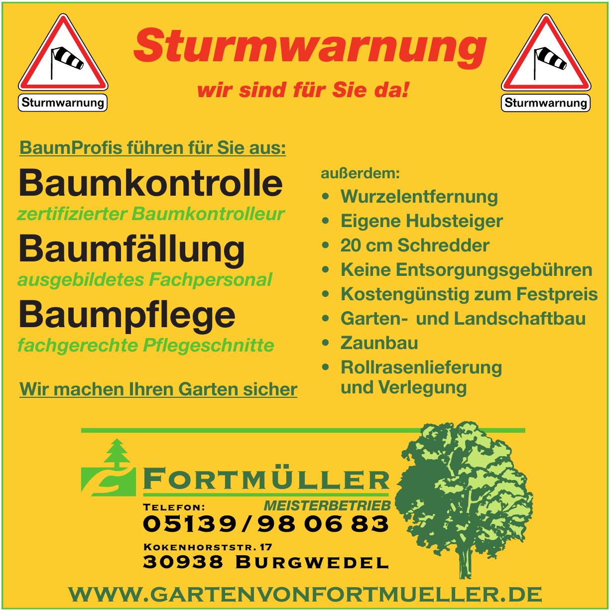 Fortmüller Garten- und Landschaftsbau