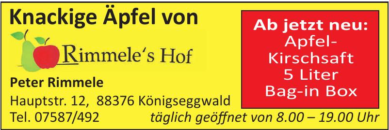Rimmele's Hof
