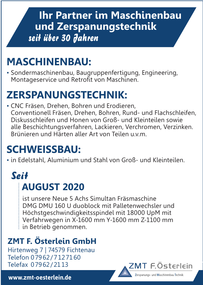 ZMT F. Österlein GmbH