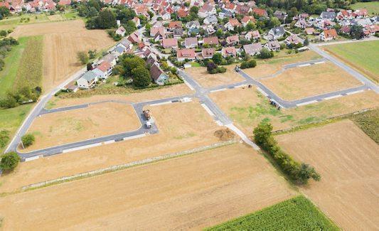 Das Dußlinger Neubaugebiet Hofstatt. Bild: Gemeinde Dußlingen
