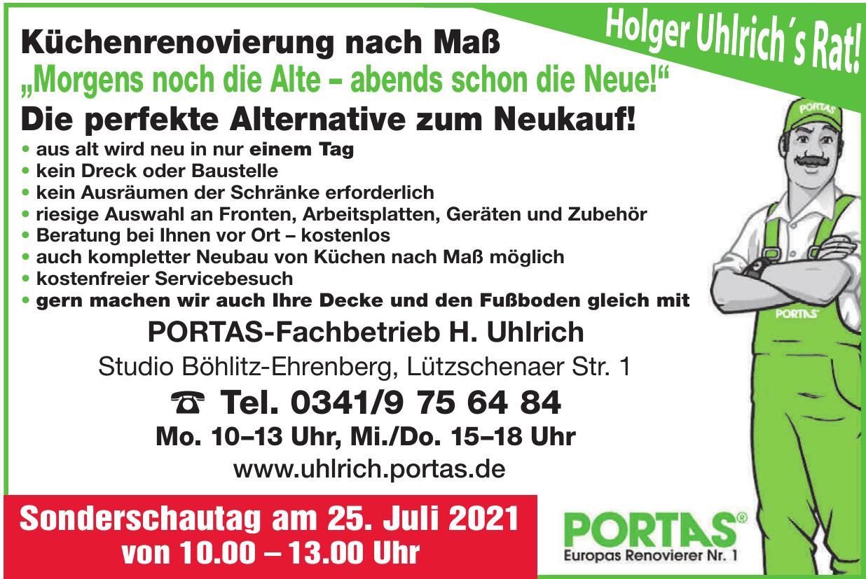 Portas-Fachbetrieb H. Uhlrich