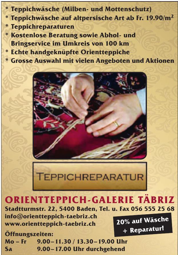 Orientteppich-Galerie Täbriz