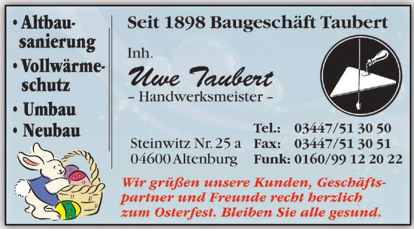 Uwe Taubert Handwerksmeister