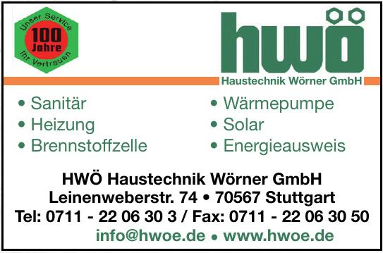 hwö Haustechnik Wörner GmbH
