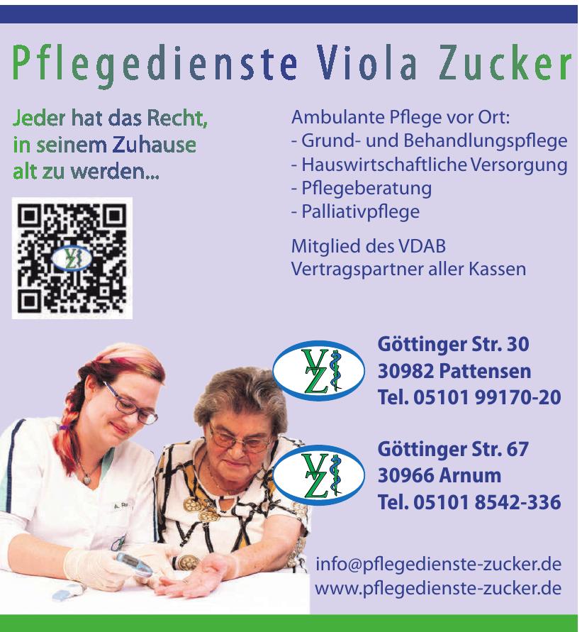 Pflegedienst Viola Zucker