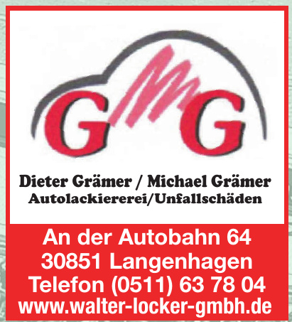 Dieter Grämer - Michael Grämer Autolackiererei/Unfallschäden