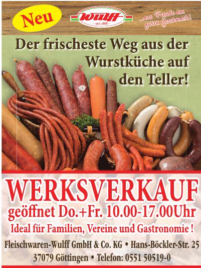 Fleischwaren-Wulff GmbH & Co. KG