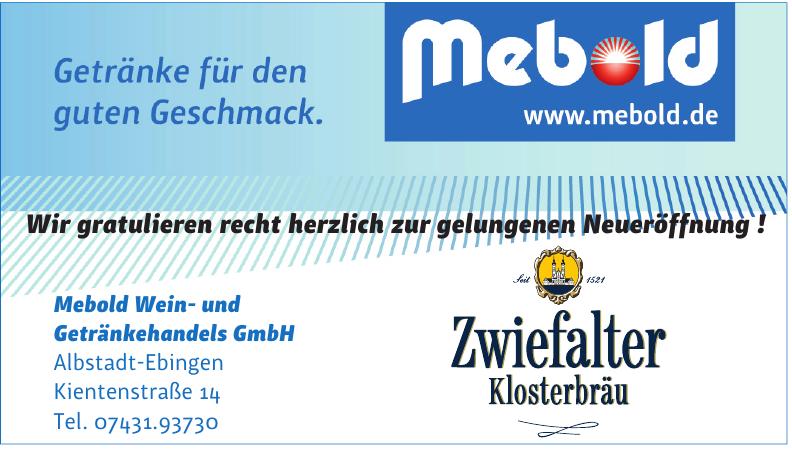Mebold Wein- und Getränkehandels GmbH
