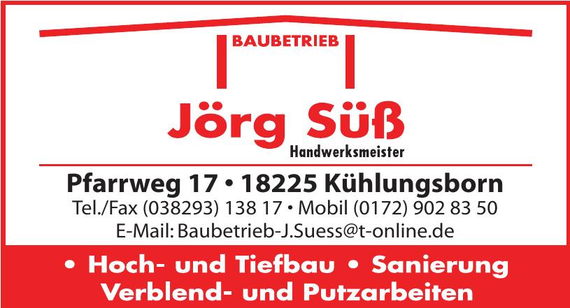 Baubetrieb Jörg Süß
