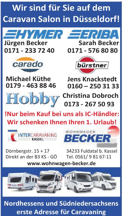 Wohnwagen Becker
