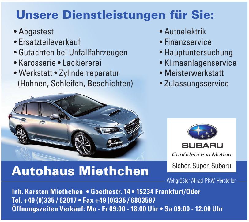 Autohaus Miethchen