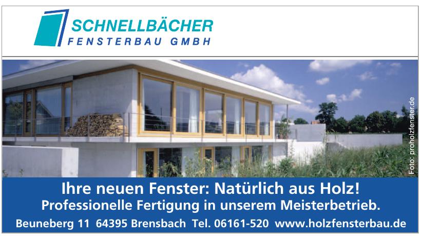 Schnellbächer Fensterbau GmbH