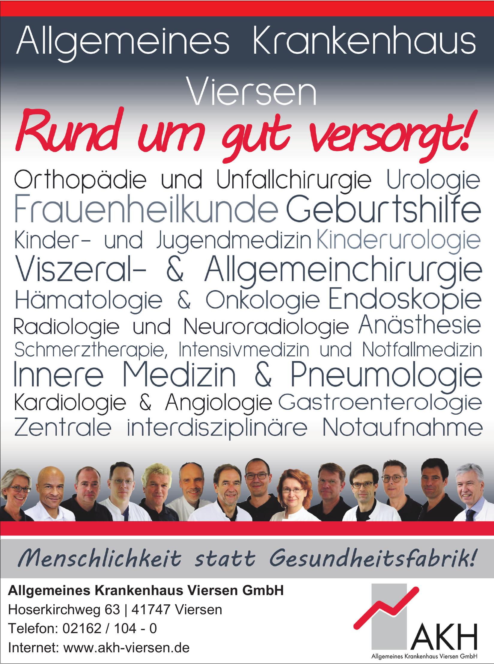 Allgemeines Krankenhaus Viersen GmbH
