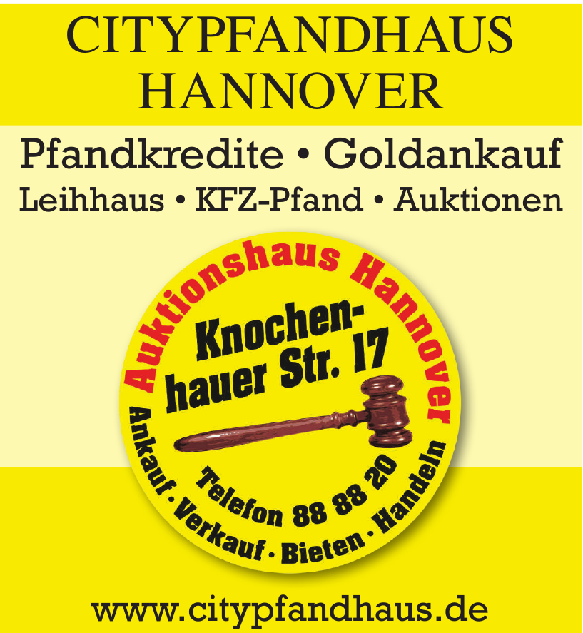 Pfand- & -Auktionshaus Hannover