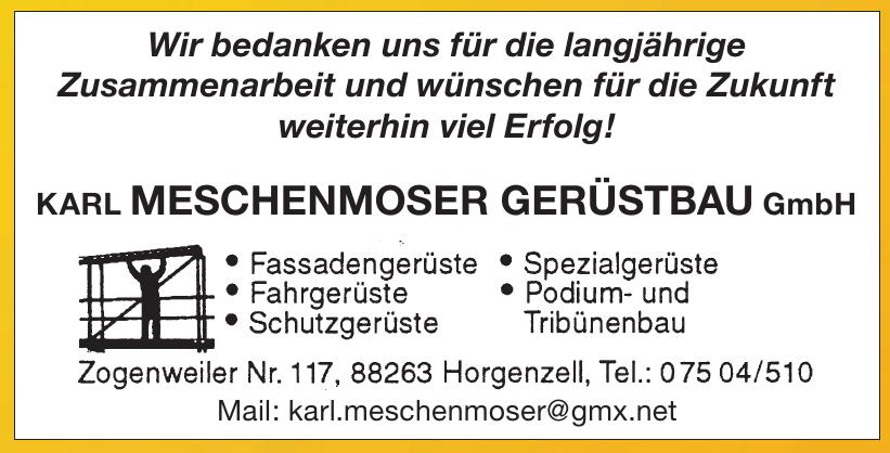 Karl Meschenmoser Gerüstbau GmbH