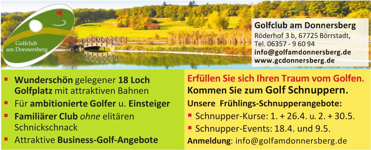 Golfclub am Donnersberg