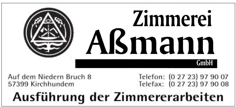 Zimmerei Aßmann GmbH