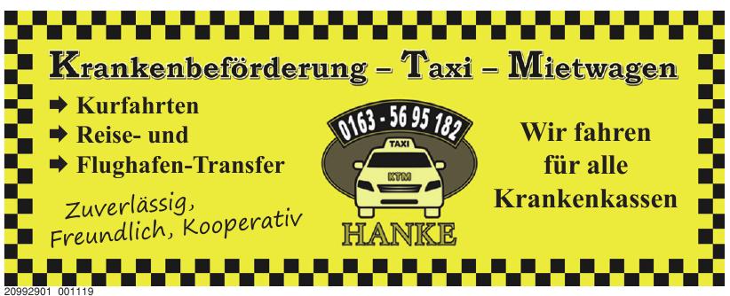 Taxi Hanke