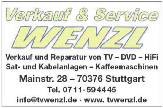 Verkauf & Service Wenzl