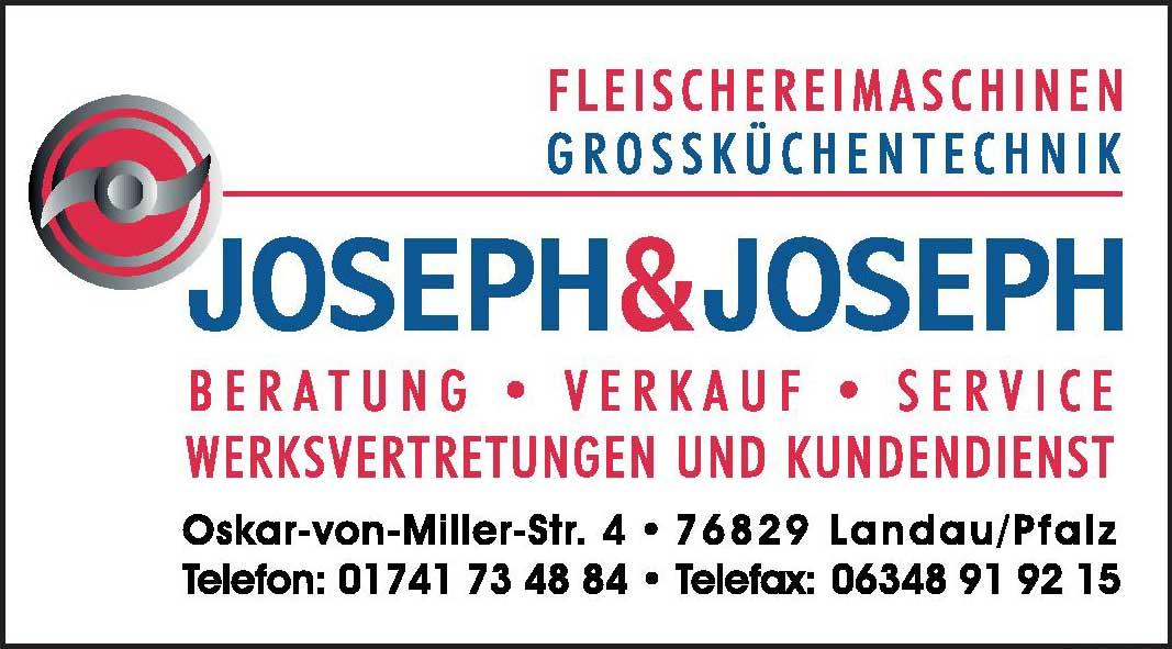 Fleischereimaschinen Grossküchentechnik Joseph & Joseph