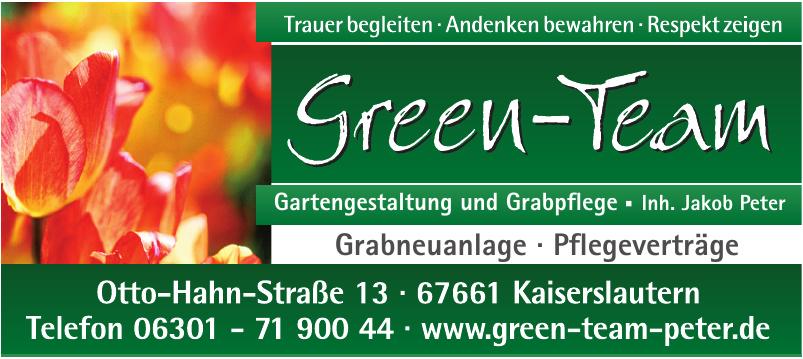 Green-Team Gartengestaltung und Grabpflege