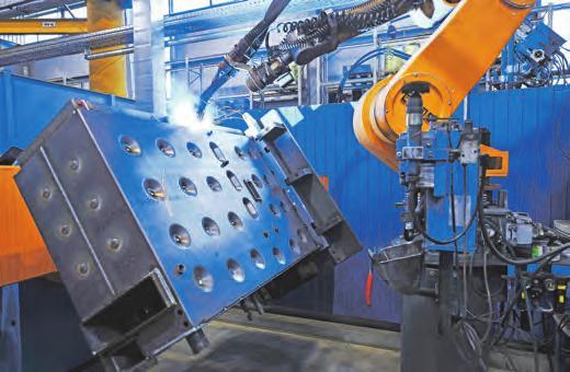 Qualifizierte Fachkräfte von morgen können sich schon heute auf das firmeninterne Know-how stützen und einen modernen Maschinenpark nützen. Foto: Fröling