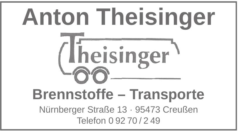 Anton Theisinger Brennstoffe – Transporte