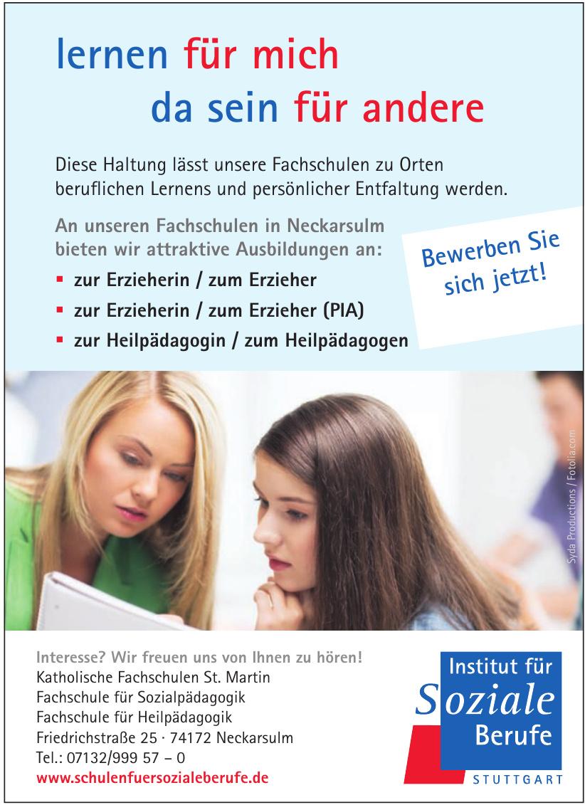 Institut für Soziale Berufe Stuttgart