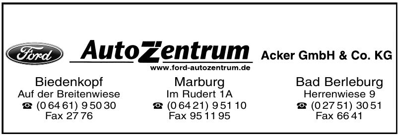 Autozentrum Biedenkopf Acker GmbH & Co KG