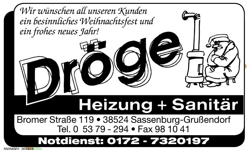 Heizung-Sanitär Dröge