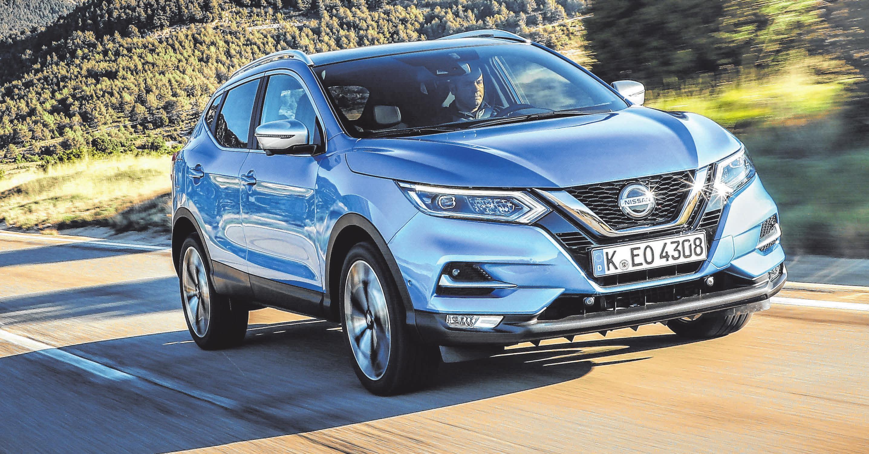 Effizient und vernetzt: Nissan hat den Erfolgscrossover Qashqai aufgewertet. FOTO: NISSAN