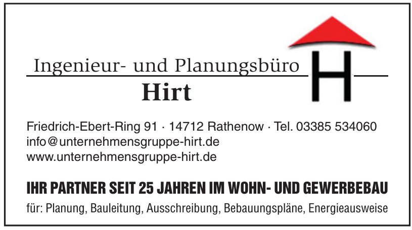 Ingenieur- und Planungsbüro Hirt
