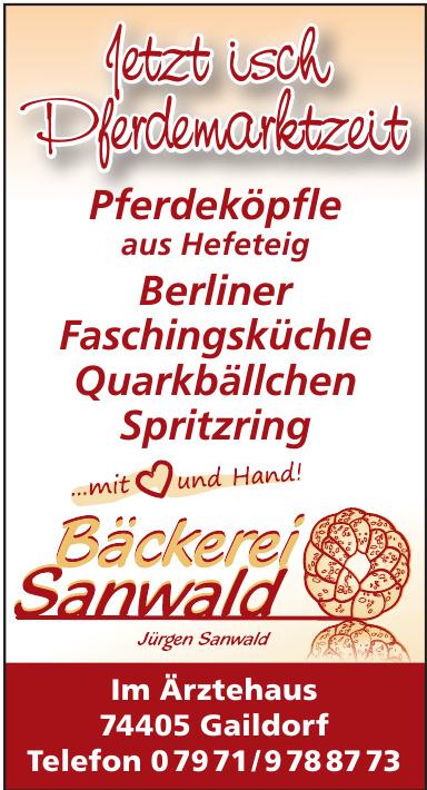 Bäckerei Sanwald