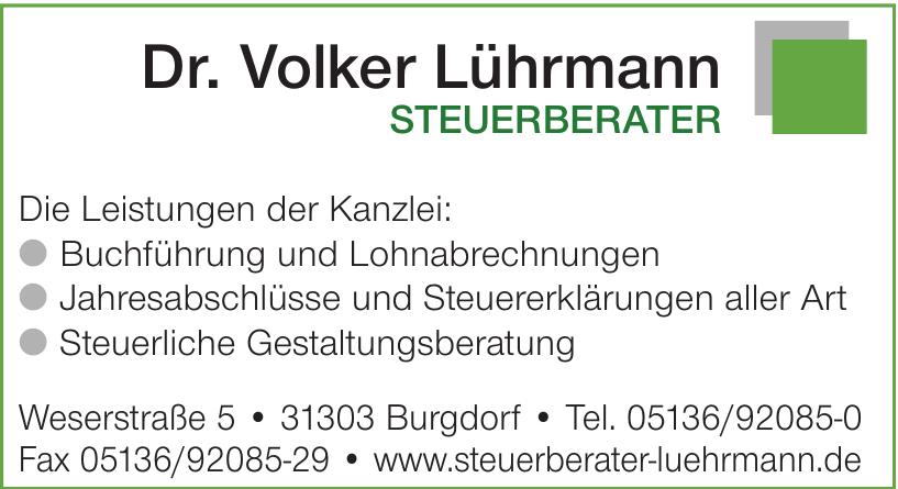 Dr. Volker Lührmann Steuerberater