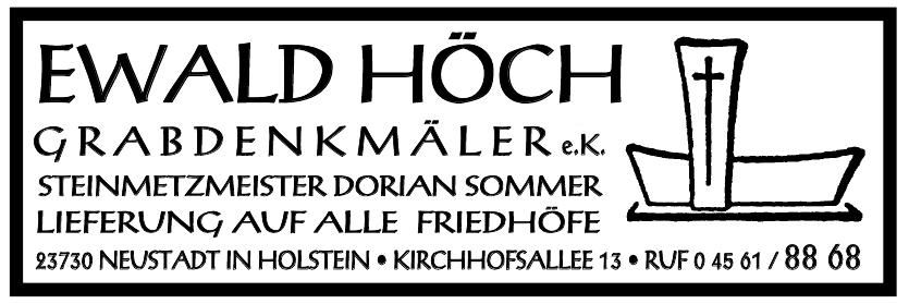 Ewald Höch Grabdenkmäler e. K.