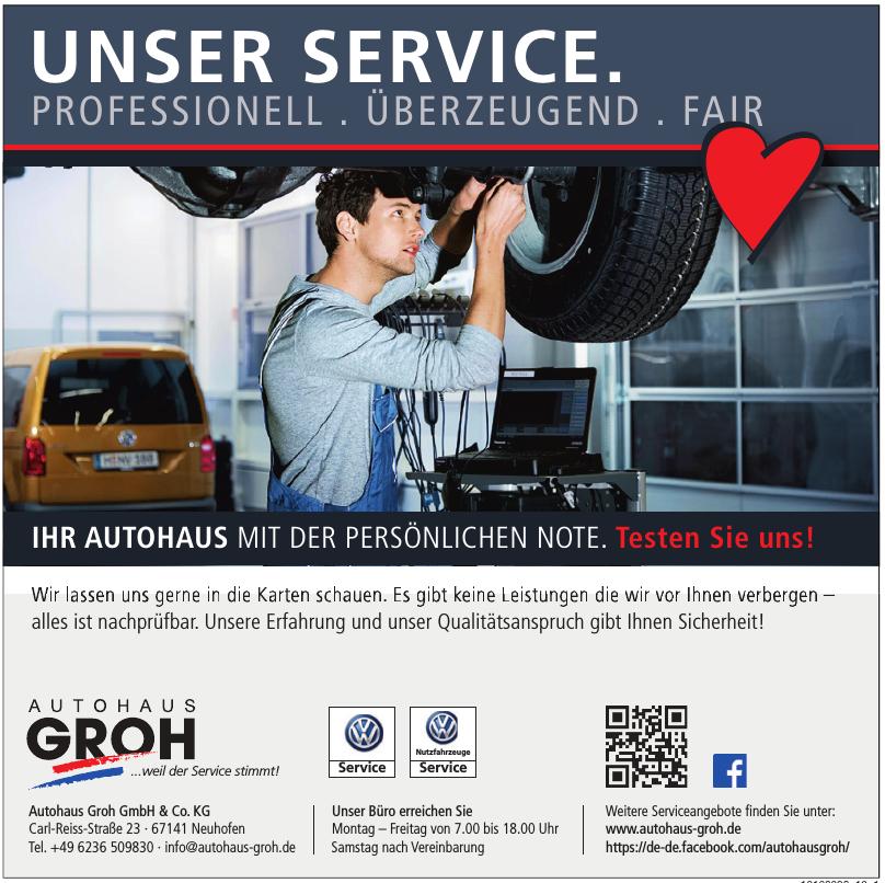 Autohaus Groh GmbH & Co. KG