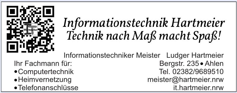 Informationstechnik Hartmeier