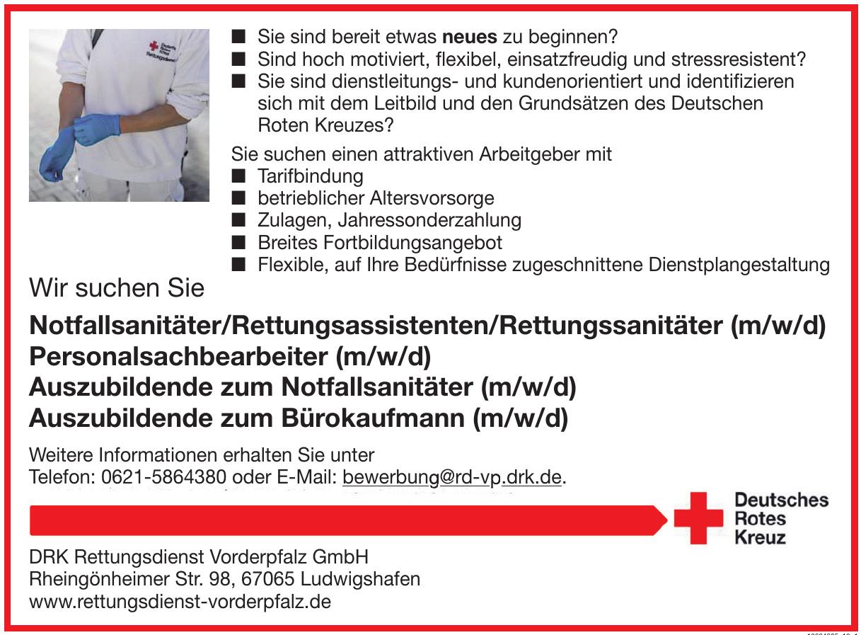 DRK Rettungsdienst Vorderpfalz GmbH